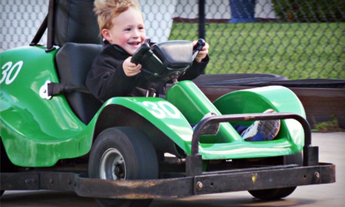 AJ's Family Fun Center - Multiple Locations: $10 for $20 Worth of Go-Karts, Bumper Boats, and Mini Golf at AJ's Family Fun Center