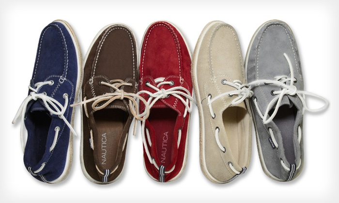 Nautica Men's Foremast Boat Shoes: $39.99 for Nautica Men's Foremast Boat Shoes ($65 List Price). Multiple Colors Available. Free Shipping and Returns.