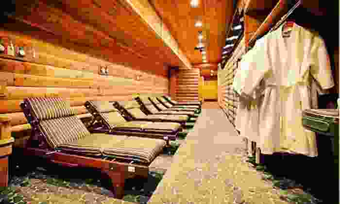 Red Square - Red Square Bath House: One Tanning Session or All-Day Russian Banya Visit with Slippers, Robe, and Locker at Red Square (Up to 79% Off)