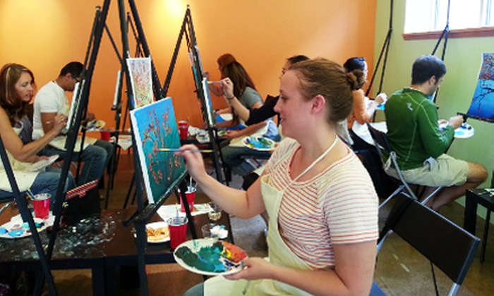 Chaos Art Gallery & Studio - St. Anthony: Two-Hour Creative Painting Class for One or Two, Including Materials at Chaos Art Gallery & Studio (Up to 68% Off)