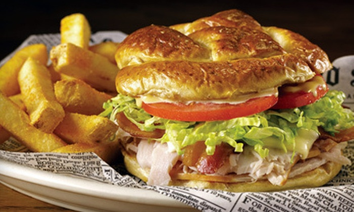 Bailey's Sports Grille  - Greenville: $10 for $20 Worth of Casual Fare at Bailey's Sports Grille