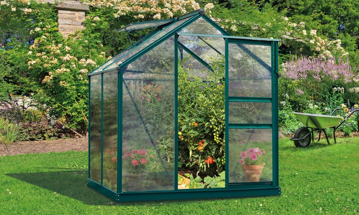 Garden greenhouse groupon goods for Gardening 4 less groupon
