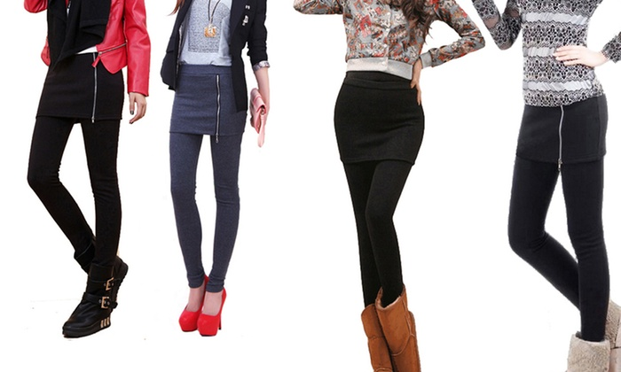 Women's Thick Heavy Pantskirt: Women's Thick Heavy Pantskirt. Multiple Options Available. Free Returns.