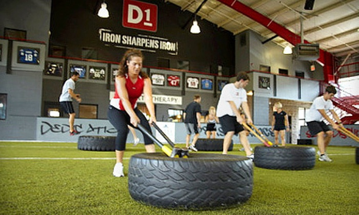 D1 Sports Training - 6: $55 for One Month of Unlimited Boot-Camp Classes at D1 Sports Training (Up to $180 Value)