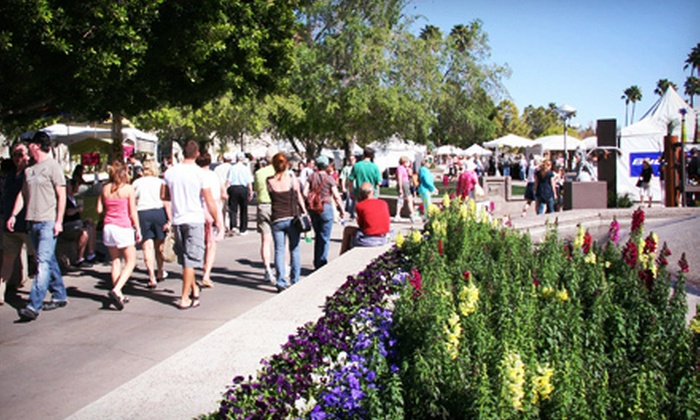 Scottsdale Arts Festival - Scottsdale Center for the Performing Arts: Single-Day Visit for Two, Four, or Six at Scottsdale Arts Festival (Up to 54% Off)