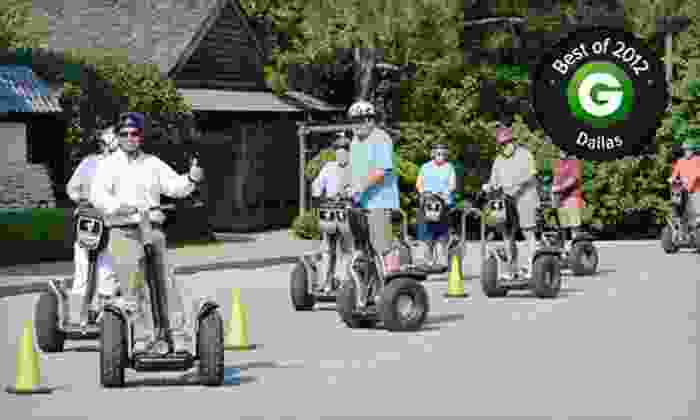 Segway Fort Worth - The River Ranch Stockyards Event Venue : Botanic Garden Segway Tour for One, Two, or Four from Segway Fort Worth (Up to 56% Off)