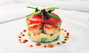 Christopher Daniel: Steak and Seafood for Lunch or Dinner for Two or Four at Christopher Daniel (Up to 45% Off)