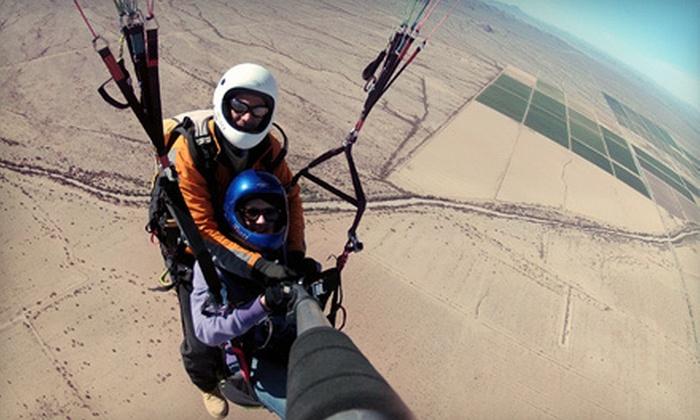 Paraglider Rides - Phoenix: $125 for a Tandem Paragliding Instructional Flight from Paraglider Rides ($250 Value)