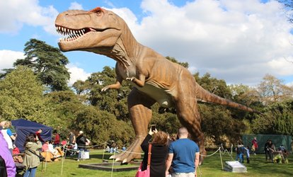 Jurassic Kingdom on 15 - 27 August at Bute Park, Cardiff (Up to 31% Off)
