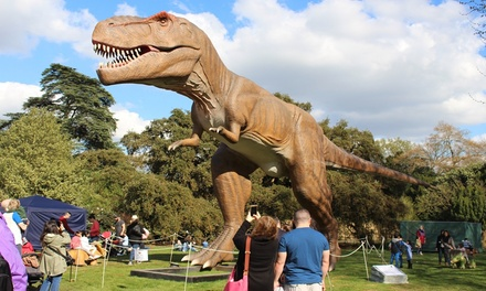 Jurassic Kingdom on 15 27 August at Bute Park, Cardiff