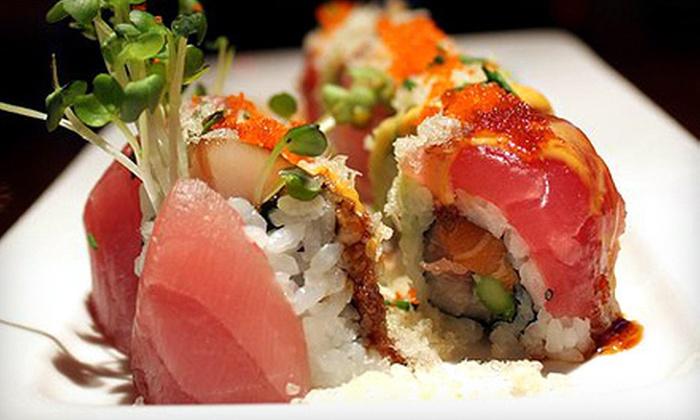 Ginza Japanese Cuisine - Southeast Jacksonville: $15 for $30 Worth of Sushi at Ginza Japanese Cuisine