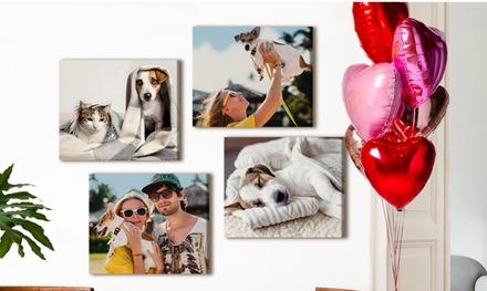 Foto-lienzo personalizable y tamaño a elegir en Printerpix (hasta 89% de descuento)