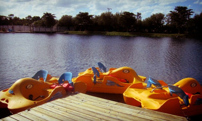Shell Factory and Nature Park - North Fort Myers: Nature Park and Fun Park Admission for One, Two, or Four at Shell Factory and Nature Park (Up to 56% Off)
