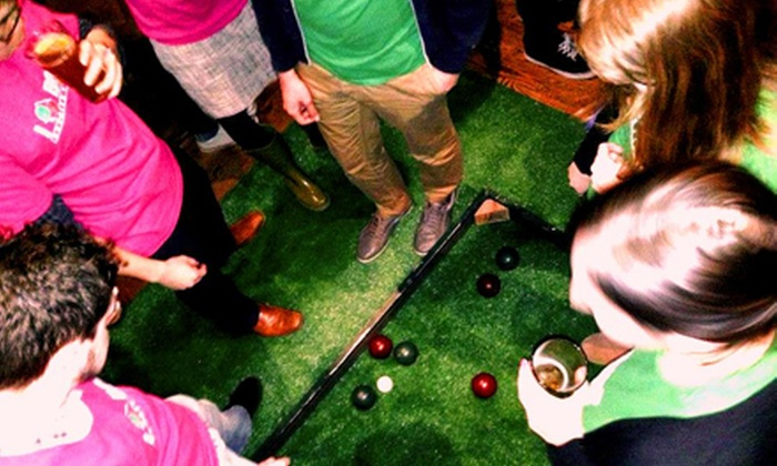 Major League Bocce Boston - Multiple Locations: Fall Bocce League Registration for an Individual or a Team of Four from Major League Bocce Boston (Half Off)