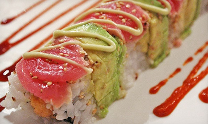 Bonsai Sushi at Vitor's - Cheviot: Four-Course Sushi Meal for One, Two, or Four at Bonsai Sushi at Vitor's (Half Off)