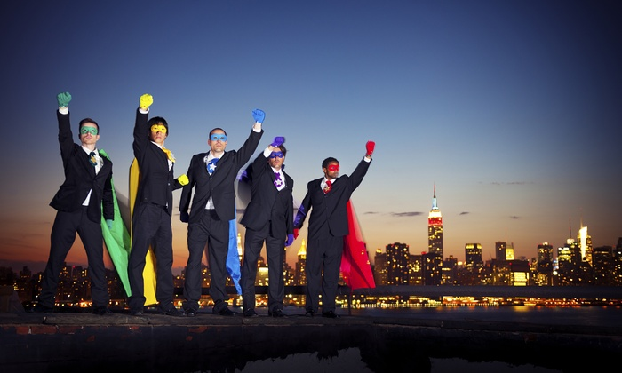 Best Tours - Midtown: Superhero Tour of New York for One, Two, or Four from Best Tours (Up to 72% Off)