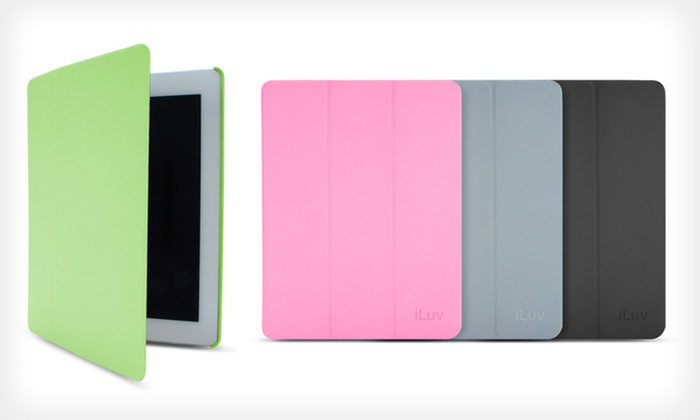 iLuv Epicarp Folio iPad Cover: $15 for an iLuv Epicarp Folio Cover for iPad ($59.99 List Price). Four Colors Available. Free Shipping and Returns.