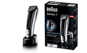 braun series 7 beard trimmer groupon goods. Black Bedroom Furniture Sets. Home Design Ideas
