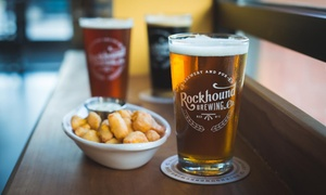 Up to 37% Off Food and Beer at Rockhound Brewing Company at Rockhound Brewing Company, plus 9.0% Cash Back from Ebates.