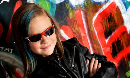 """$29 for a One-Hour In-Studio Photo Shoot with an 8""""x10"""" Print at Power Photography ($113 Value)"""