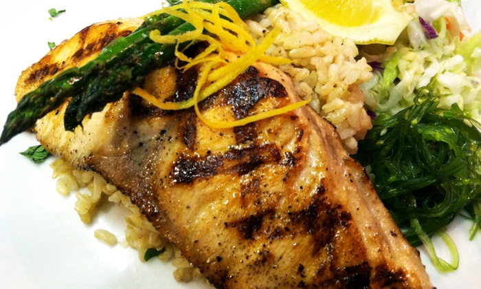 Five Hooks Fish Grill - Upper Queen Anne: Seafood at Five Hooks Fish Grill (Up to 45%  Off). Two Options Available.