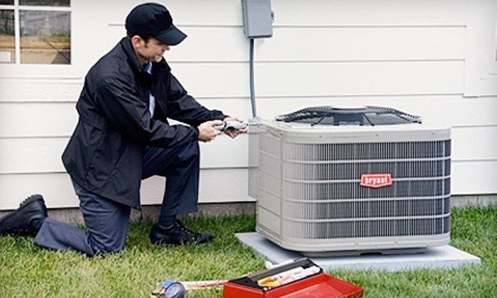 Blue Dot Services of Maryland - Baltimore: 21-Point HVAC Inspection or UltraMax EZUV Germicidal Light from Blue Dot Services of Maryland (Up to 67% Off)