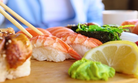 $18 for $30 Worth of Japanese Food at Wasabi Sushi Restaurant & Bar. Two Locations Available.