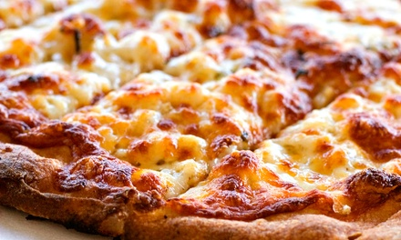 Pizza Meal with Wine or Sandwich/Pasta Lunch for 2 at Romolo's Restaurant (Up to 45% Off). 3 Options Available.