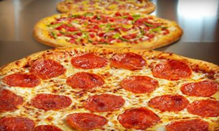 CiCi's Pizza - Flower Mound: 3, 5, or 10 Large Two-Topping Pizzas for Carry-Out or Delivery from CiCi's Pizza (Up to 57% Off)