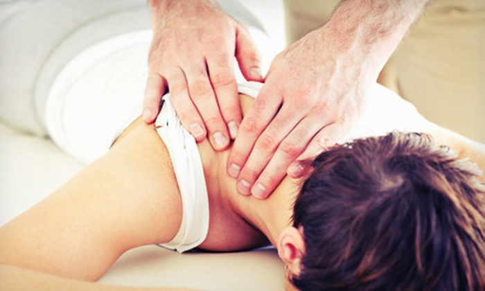 BackFit Health + Spine - Multiple Locations: 60- or 90-Minute Massage or Three or Five Spinal-Decompression Packages at BackFit Health + Spine (Up to 93% Off)