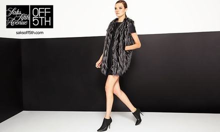 $35 for $50 at Saks Fifth Avenue OFF 5TH Stores and saksoff5th.com