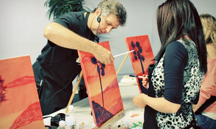 PaintNVineyard - Scripps Ranch: Two-Hour Painting Class for One, Two, or Four at PaintNVineyard (51% Off)