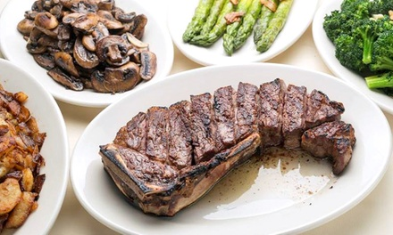$99 for a Three-Course Prix Fixe Dinner for Two at Angus Club Steakhouse($182 Value)