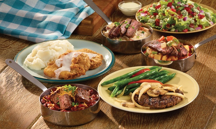 Buffet food and drinks old country buffet ovation brands groupon for Sideboard toledo