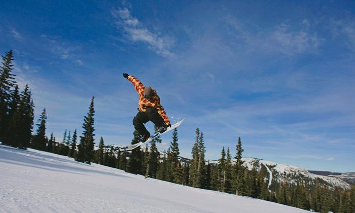 Ny Snowboarding - Maple Leaf: $164 for $299 Groupon — NY Snowboarding