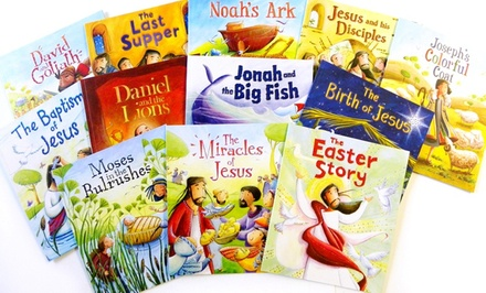 groupon daily deal - My First Bible Stories 12-Book Bundle