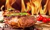 Steak-Menü mit Tapas u. Roastbeef