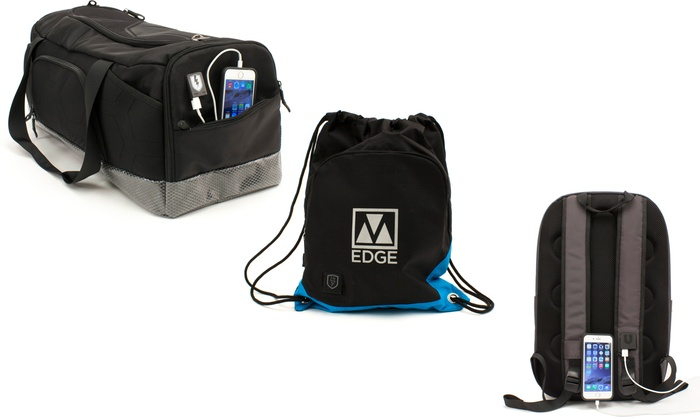 Edge Outdoor Sports Backpack with USB Charger
