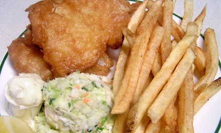 $5 for $10 Worth of Seafood and Drinks at Scotty Simpson's Fish & Chips