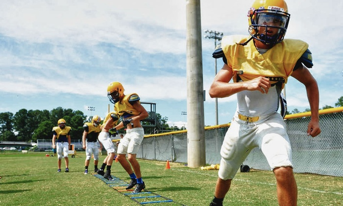 I Got Next Youth Sports Inc. - Matthews Sportsplex: $110 for Youth Football Training and Conditioning Camp from I Got Next Youth Sports Inc. ($200 Value)