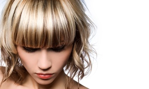 Painted Strands: Shampoo, Haircut, and Style with Optional Highlights or Single-Process Color at Painted Strands (Up to 58% Off)