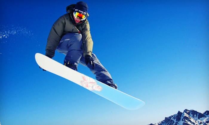 Stony Mountain Ski Area - Stony Mountain: Discover Snowboarding Lesson with Rentals and Lift Tickets for One or Two at Stony Mountain Ski Area (Up to 53% Off)