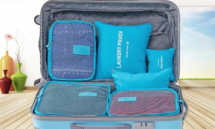 Set da 6 organizer da valigia