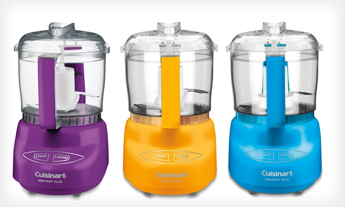 Cuisinart Mini-Prep Plus 3-Cup Processor: $34.99 for a Cuisinart Mini-Prep Plus 3-Cup Processor ($75 List Price). 5 Colors Available. Free Shipping and Returns.