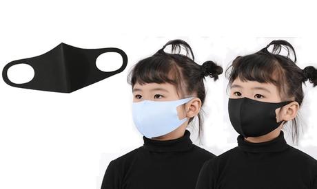 Pack de 10 o 20 mascarillas faciales para niños