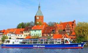 Schiff und Boot Morgenroth: 3-Seen-Rundfahrt für 2 Personen oder Familie bei Schiff und Boot Morgenroth (50% sparen*)