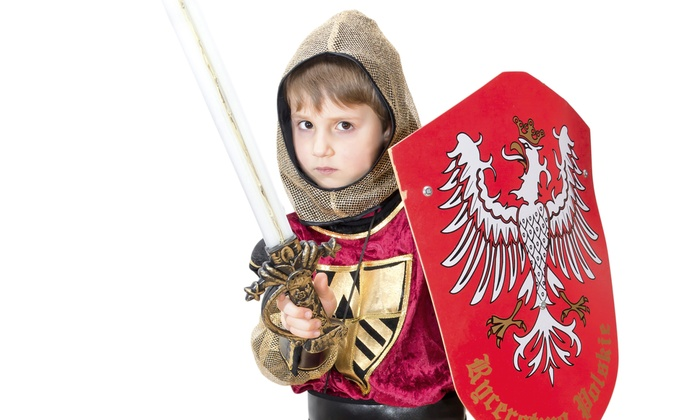 Medieval Kingdom - Swansea: $75 for Fantastic Friday in a Castle Environment for Five Kids at Medieval Kingdom in Swansea  ($150 Value)