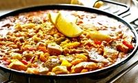 Desde $499 por almuerzo o cena con entrada + plato principal + espumante para dos o cuatro en Claudio Marisqueria