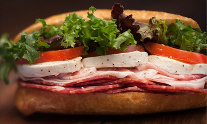 Brown Bag Deli - Fred Wilson: $5 for $10 Worth of Sub Sandwiches at Brown Bag Deli