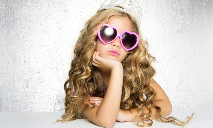 Little Ms Bella Beautique - Farmington: Tea Party for Two, Week Day Camp, or $22 for $30 Worth of Kids' Hair Services at Little Ms Bella Beautique